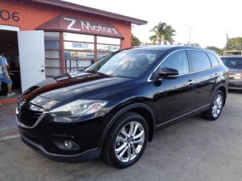 2013 Mazda CX-9 for sale at Z MOTORS INC in Hollywood FL