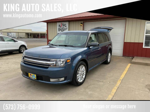 2019 Ford Flex for sale at KING AUTO SALES, LLC in Farmington MO