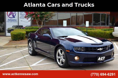 2010 Chevrolet Camaro for sale at Atlanta Cars and Trucks in Kennesaw GA