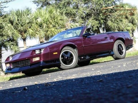 1992 Chevrolet Camaro for sale at SURVIVOR CLASSIC CAR SERVICES in Palmetto FL