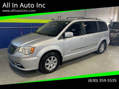 2011 Chrysler Town and Country for sale at All In Auto Inc in Addison IL