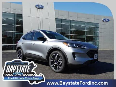 2021 Ford Escape for sale at Baystate Ford in South Easton MA