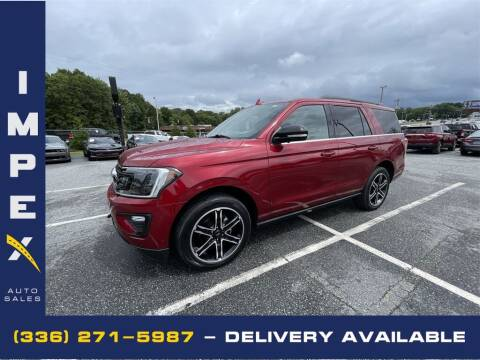 2019 Ford Expedition for sale at Impex Auto Sales in Greensboro NC
