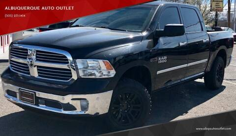 2014 RAM Ram Pickup 1500 for sale at ALBUQUERQUE AUTO OUTLET in Albuquerque NM