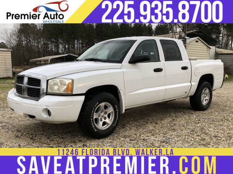 2006 Dodge Dakota for sale at Premier Auto Wholesale in Baton Rouge LA