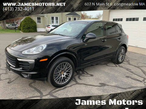 2017 Porsche Cayenne for sale at James Motors Inc. in East Longmeadow MA