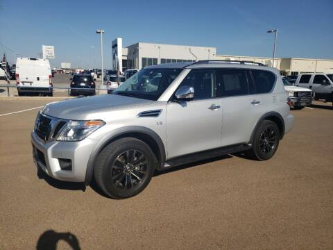 2018 Nissan Armada for sale at South Plains Autoplex by RANDY BUCHANAN in Lubbock TX
