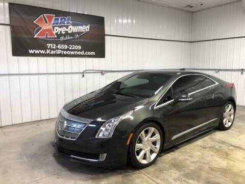 2014 Cadillac ELR for sale at Karl Pre-Owned in Glidden IA
