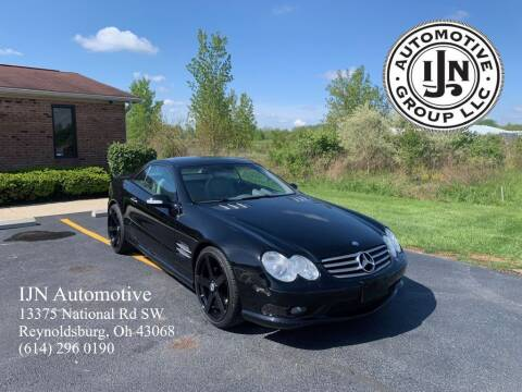 2003 Mercedes-Benz SL-Class for sale at IJN Automotive Group LLC in Reynoldsburg OH