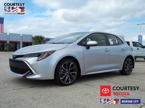 2021 Toyota Corolla Hatchback for sale at Courtesy Toyota & Ford in Morgan City LA