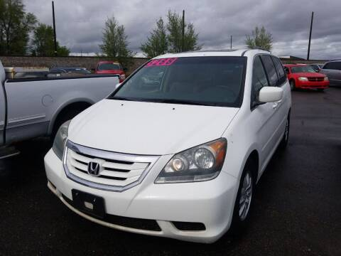 2008 Honda Odyssey for sale at BELOW BOOK AUTO SALES in Idaho Falls ID