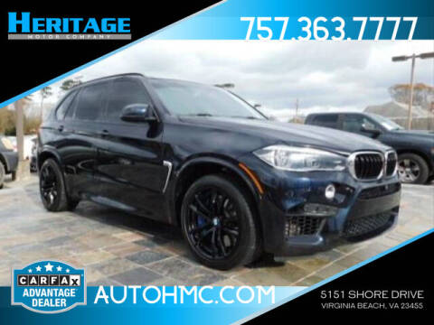 2016 BMW X5 M for sale at Heritage Motor Company in Virginia Beach VA
