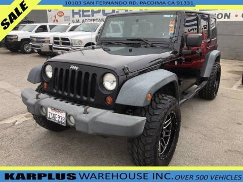 2008 Jeep Wrangler Unlimited for sale at Karplus Warehouse in Pacoima CA