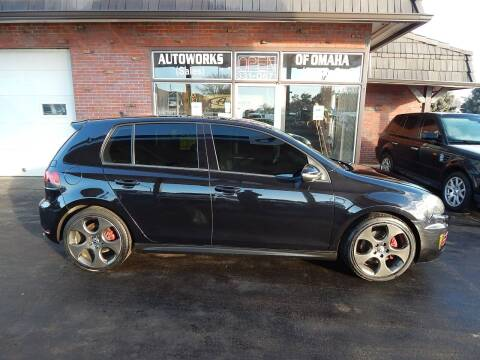 2012 Volkswagen GTI for sale at AUTOWORKS OF OMAHA INC in Omaha NE