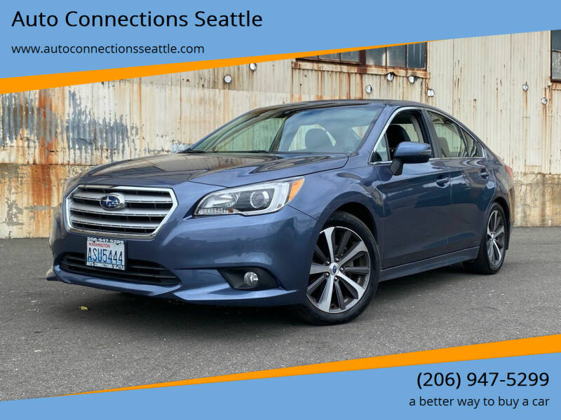 2015 Subaru Legacy for sale at Auto Connections Seattle in Seattle WA