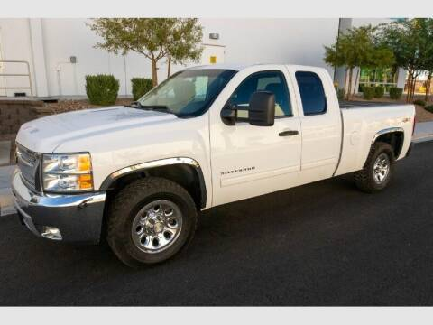 2012 Chevrolet Silverado 1500 for sale at REVEURO in Las Vegas NV