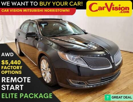 2014 Lincoln MKS for sale at Car Vision Mitsubishi Norristown in Trooper PA