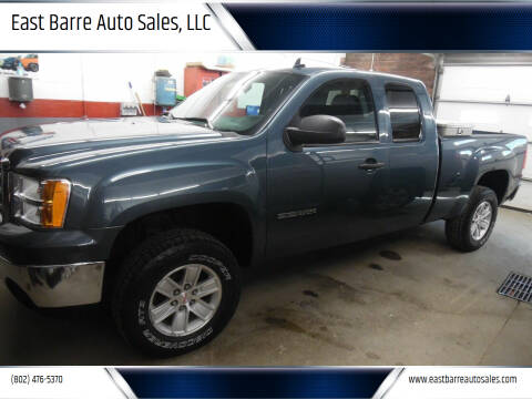 2013 GMC Sierra 1500 for sale at East Barre Auto Sales, LLC in East Barre VT