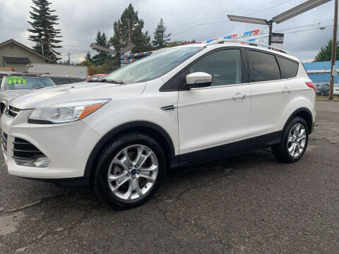 2015 Ford Escape for sale at Stag Motors in Portland OR