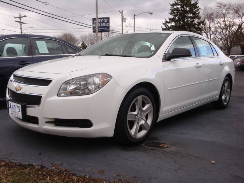 2012 Chevrolet Malibu for sale at Jay's Auto Sales Inc in Wadsworth OH