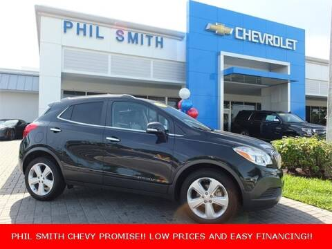 2016 Buick Encore for sale at PHIL SMITH AUTOMOTIVE GROUP - Manager's Specials in Lighthouse Point FL