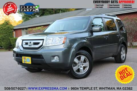 2010 Honda Pilot for sale at Auto Sales Express in Whitman MA
