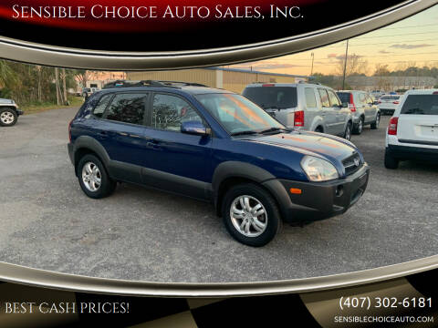 2008 Hyundai Tucson for sale at Sensible Choice Auto Sales, Inc. in Longwood FL