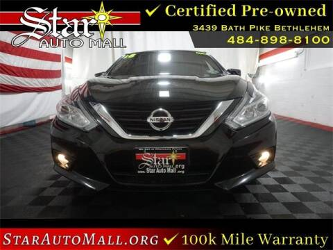 2018 Nissan Altima for sale at STAR AUTO MALL 512 in Bethlehem PA