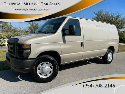 2008 Ford E-Series Cargo for sale at Tropical Motors Car Sales in Deerfield Beach FL