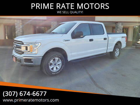 2019 Ford F-150 for sale at PRIME RATE MOTORS in Sheridan WY