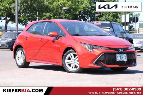 2019 Toyota Corolla Hatchback for sale at Kiefer Kia in Eugene OR