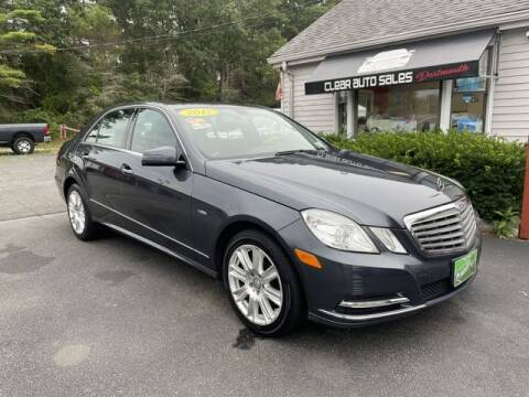 2012 Mercedes-Benz E-Class for sale at Clear Auto Sales in Dartmouth MA
