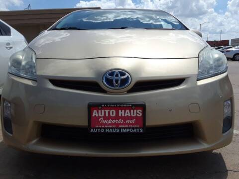 2011 Toyota Prius for sale at Auto Haus Imports in Grand Prairie TX