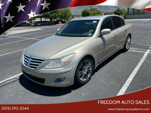 2009 Hyundai Genesis for sale at Freedom Auto Sales in Albuquerque NM