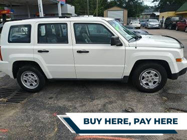2008 Jeep Patriot for sale at All Star Auto Sales of Raleigh Inc. in Raleigh NC