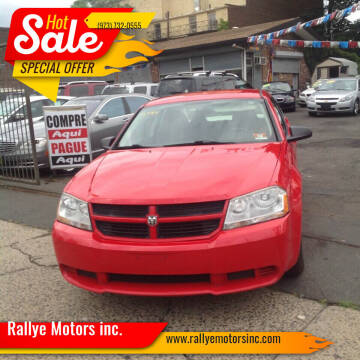 2009 Dodge Avenger for sale at Rallye  Motors inc. in Newark NJ