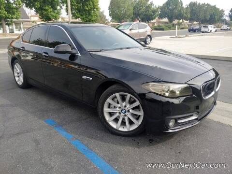 2016 BMW 5 Series for sale at Ournextcar/Ramirez Auto Sales in Downey CA