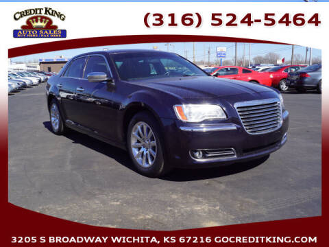2012 Chrysler 300 for sale at Credit King Auto Sales in Wichita KS