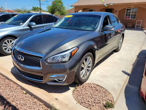 2015 Infiniti Q70 for sale at A AND A AUTO SALES in Gadsden AZ