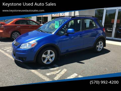 2012 Suzuki SX4 Crossover for sale at Keystone Used Auto Sales in Brodheadsville PA