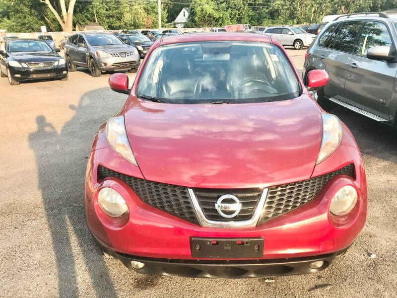 2013 Nissan JUKE for sale at Tiger Auto Sales in Columbus OH