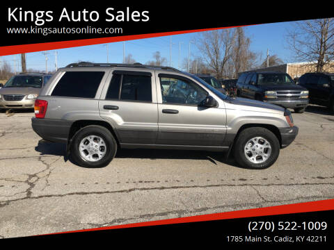 2001 Jeep Grand Cherokee for sale at Kings Auto Sales in Cadiz KY