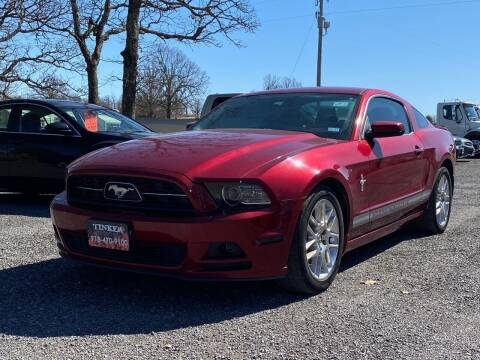 2014 Ford Mustang for sale at TINKER MOTOR COMPANY in Indianola OK