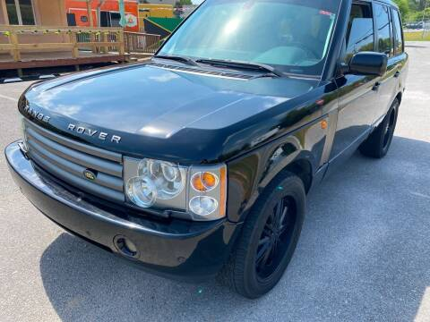 2004 Land Rover Range Rover for sale at Nash's Auto Sales Used Car Dealer in Milton FL