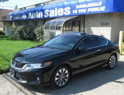 2013 Honda Accord for sale at Lookin-Nu Auto Sales in Waterford MI