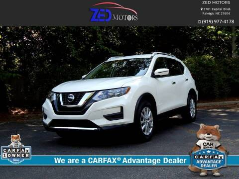 2019 Nissan Rogue for sale at Zed Motors in Raleigh NC