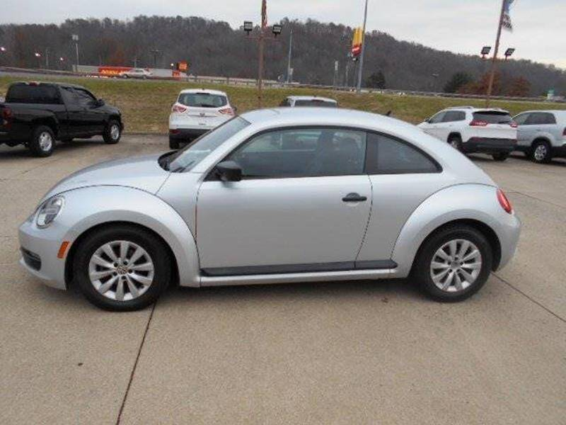 2014 Volkswagen Beetle for sale at Jerry's Auto Mart in Uhrichsville OH