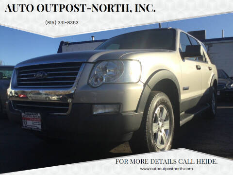 2006 Ford Explorer for sale at Auto Outpost-North, Inc. in McHenry IL