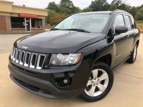2014 Jeep Compass for sale at Gwinnett Luxury Motors in Buford GA