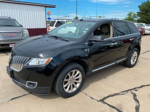 2013 Lincoln MKX for sale at De Anda Auto Sales in South Sioux City NE